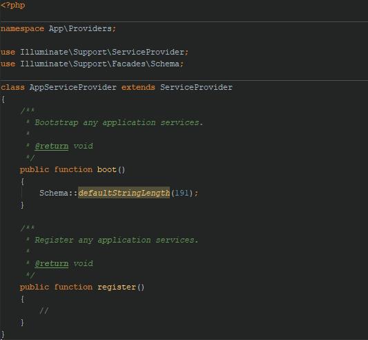 رفع خطای specified key was too long error